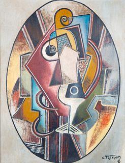GEORGES TERZIAN (ARMENIAN B. 1939)