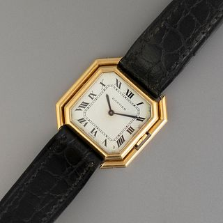 Cartier Ceinture Automatic Gold Wristwatch