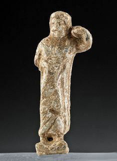 Roman Lead Figure of Jupiter