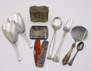 Sterling Silver Commentative Cigarette Case