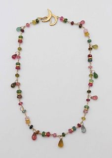 Talisman 18k Confetti Gemstone Necklace