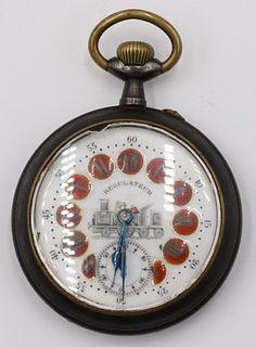 Vintage Regulateur Railroad Pocket Watch