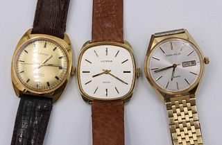 Three Assorted Men's Vintage Watches