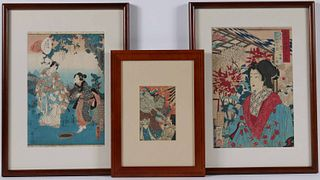 Two Japanese Woodblock Prints