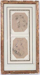 Jean-Baptiste Carpeaux, Study of Lion's Head