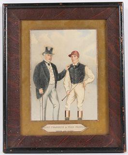 Richard Dighton, Watercolor, Lord Falmouth