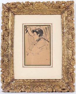 Edme Alexis Alfred Dehodencq, Study of Man's Head