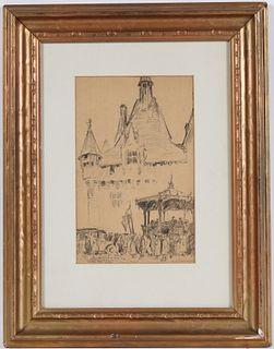 Albert Pennoyer, Pencil, Armistice Day
