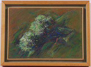 Pastel on Paper/Canvas, Floral Still Life