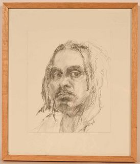 Drawing on Paper, Portrait, David Gayle