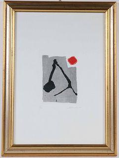 Abstract Lithograph, Giuseppe Santomaso