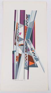 Edmund Lewandowski, Silkscreen, Structural Steel