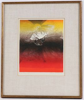 """George Lockwood, Lithograph, """"The Wasp"""""""