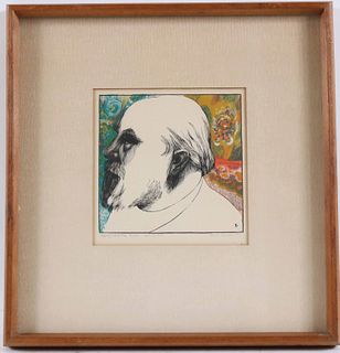 """George Lockwood, Lithograph, """"Roden"""""""