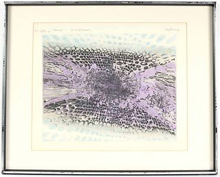 "Denji Noma, Lithograph, ""Study for Horizon"""