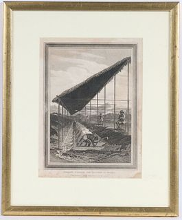 Engraving, Negroes Washing for Diamonds in Brazil