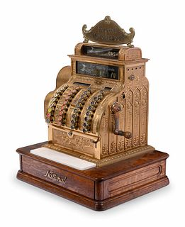 A National Brass Cash Register, Model No. 441