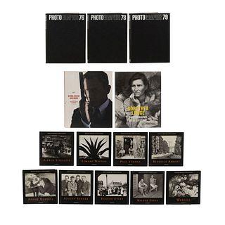 LIBROS SOBRE FOTOGRAFÍA PERIODÍSTICA, EDITORIAL, PUBLICITARIA Y ARTÍSTICA. a) Aperture Masters of Photography. Piezas: 14.