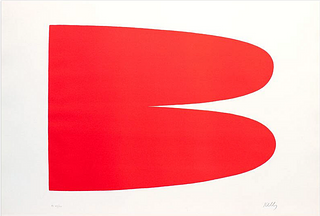 ELLSWORTH KELLY, Red-Orange (Rouge-Orange)