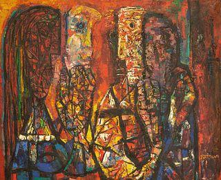 ABRAHAM RATTNER (AMERICAN 1895-1978)