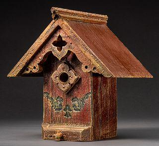 Tudor Birdhouse