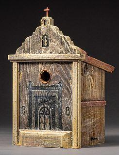 San Luis Rey Mission Birdhouse