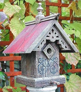 Victorian Sunburst Birdhouse