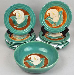 Group Texas San Jose Art Pottery
