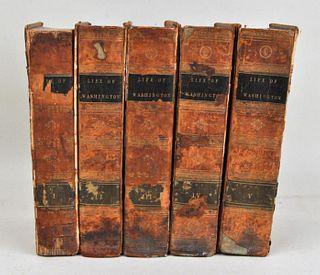 Marshall, The Life Of Washington, 1804-7, 5 Vol.