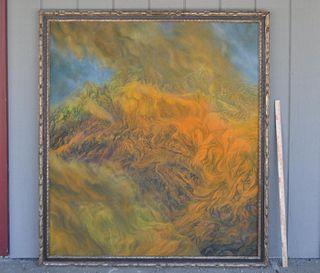 John MacKenzie, Untitled (Inferno) O/C