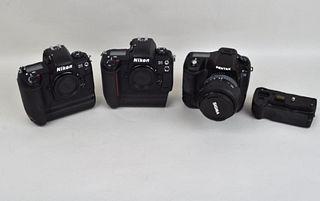 Three DSLR Cameras