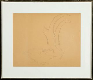Georgia O'Keeffe, Untitled (Antelope Horns), ca. 1952