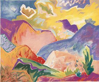 Richard Lange, Santa Fe II, 1987