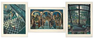 Michael Young, Three Lithographs