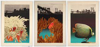 Michael Knigin, Three Lithographs