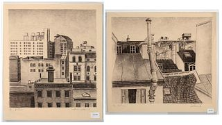 William Selesnick, Two Lithographs
