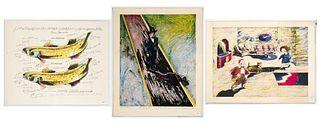 Clifford Condak, Three Lithographs
