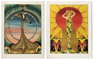 Jean-Francois Ibos, Two Prints