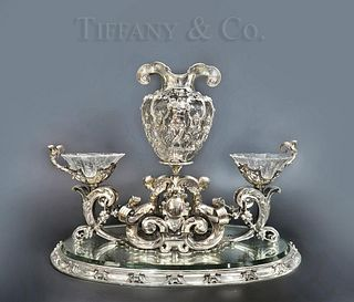 An Important Tiffany & Co Sterling Silver Centerpiece
