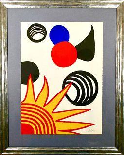 """Alexander Calder: """"Joies du Néophyte""""."""