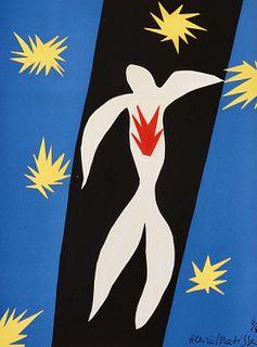 "Henri Matisse: ""The Fall of Icarus"", Pochoir, 1945.  Code: 10127"