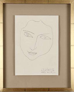 Henri Matisse: Portraits of Angela Lamotte