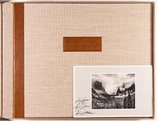 ANSEL ADAMS - Deluxe Edition of Yosemite and the Range of Light, 1979