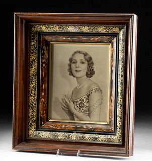 Autographed Mary Pickford Photo, ca. 1920s