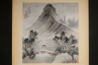 19TH C. CHINESE LANDSCAPE PAINTING