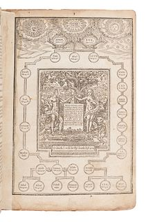 "[BIBLE, in English]. The Holy Bible, Conteyning the Old Testament, and the New""¦ London: Robert Barker, 1612."