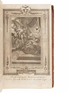 WRIGHT, Paul. The New and Complete Life of Our Blessed Lord and Saviour Jesus Christ. Philadelphia: Tertius Dunning & Walter W. Hyer, 1795.