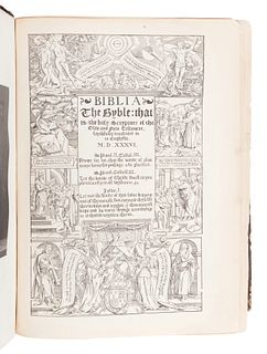 [BIBLES - LONDON IMPRINTS]. A group of 3 Bibles, comprising: