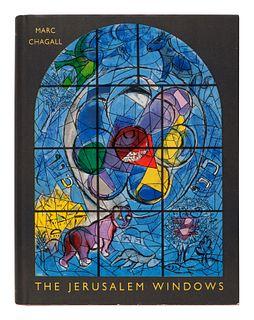 CHAGALL, Marc (1887-1985). The Jerusalem Windows. New York: George Braziller, 1962.