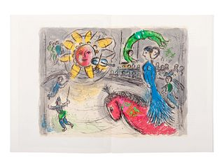 [DERRIERE LE MIROIR - CHAGALL]. A group of 4 Marc Chagall issues, comprising: